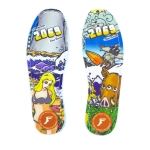Footprint insoles Flat Dane Burman Fukushima